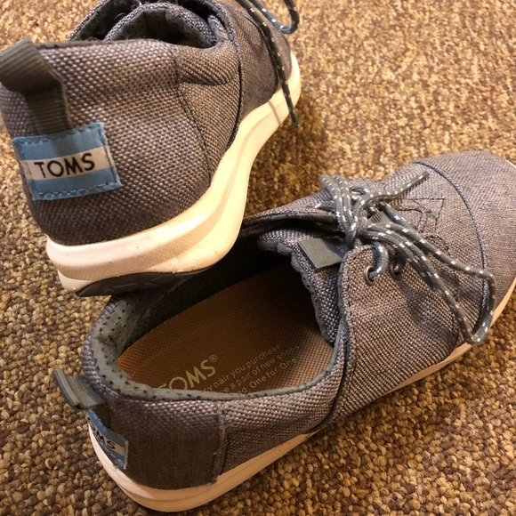 caf042a463a Toms Shoes - TOMS Grey Women s Cabrillo Sneakers